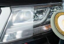 restoring headlights using the Best Headlight Restoration Kit